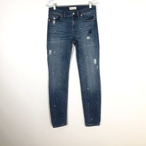 MADEWELL SkinnySkinny Jeans in Painted Edition- 29